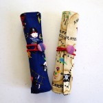 finished pencil rolls