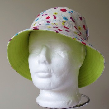 dragonfly cream hat front view